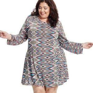 Misa Prism Print Dress Size 3X